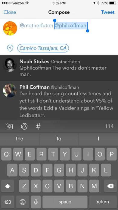 Tweetbot 3 for Twitte... screenshot1