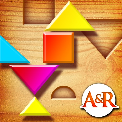 My First Tangrams – A Wood Tangram Puzzle Game for Kids