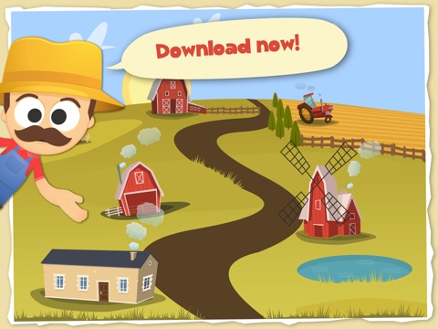 Fun with Farm Animals Cartoon-ipad-4