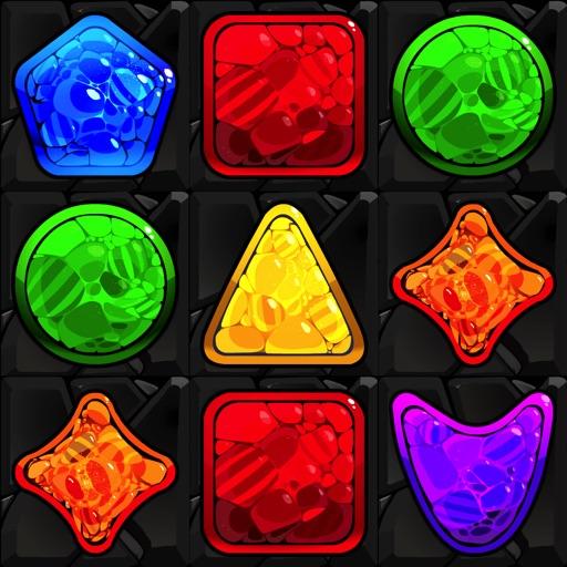 Shape Matcher 2 - Best Diamond Match-3 Scramble iOS App