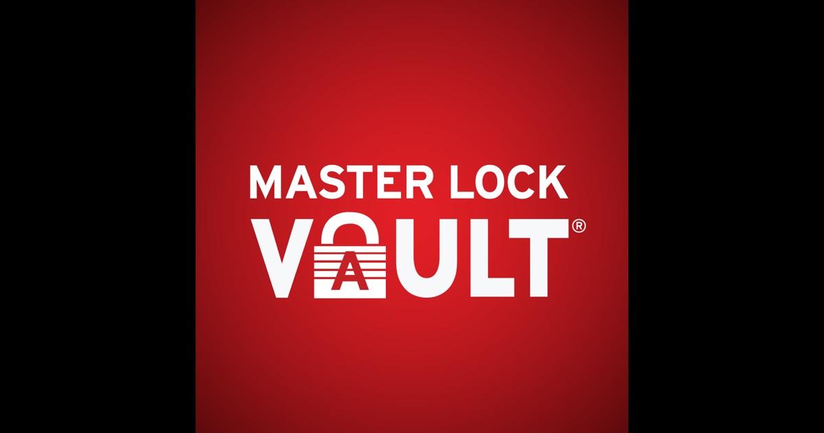 master lock vault on the app store. Black Bedroom Furniture Sets. Home Design Ideas
