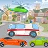 Automobili e Mezzi di Divertimento Per i Bambini Della Scuola! Attività di Libero Pensiero