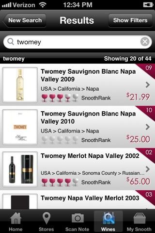 Snooth Wine screenshot 2