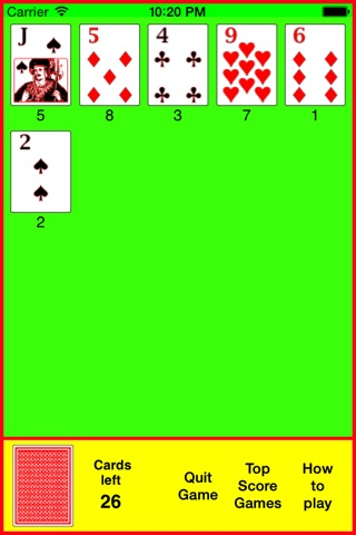 Pilot Solitaire screenshot 3