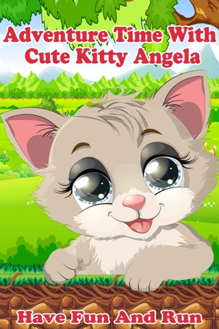 Adventure Time With Cute Kitty Angela - Have Fun And Run (Pro) screenshot 1