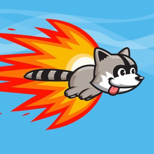 Raccoon Rocket iOS App