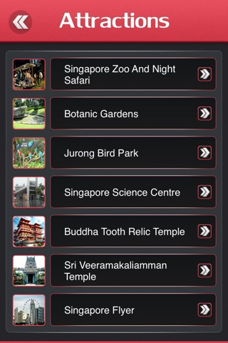 Singapore Offline Tourism Guide screenshot 3