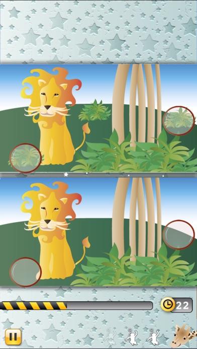 動物間違い探し:探してみよう!ジャングルのスクリーンショット4