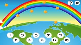 Screenshot of Attivo! Gioco Per i Bambini Per Imparare a Contare 1-10 Around the World5