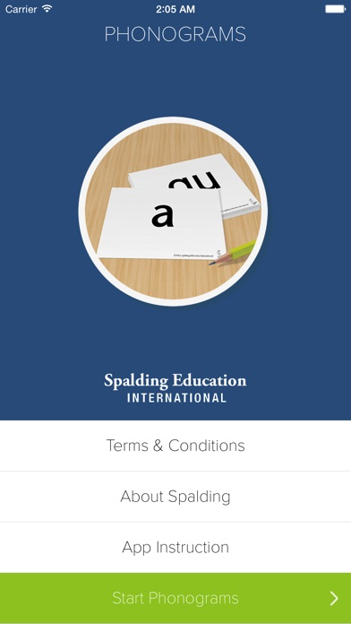 Screenshot for Phonograms by Spalding Education International in United States App Store