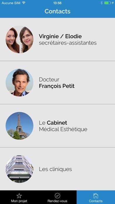 chirurgie esth tique dr fran ois petit paris app insight download. Black Bedroom Furniture Sets. Home Design Ideas