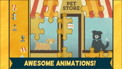 子どものためのペットゲーム:可愛いネコ、犬... screenshot1