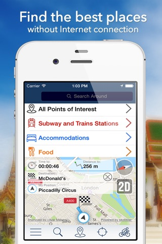 Dubai Offline Map + City Guide Navigator, Attractions and Transports screenshot 2