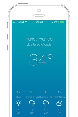 Weather 7° screenshot 2