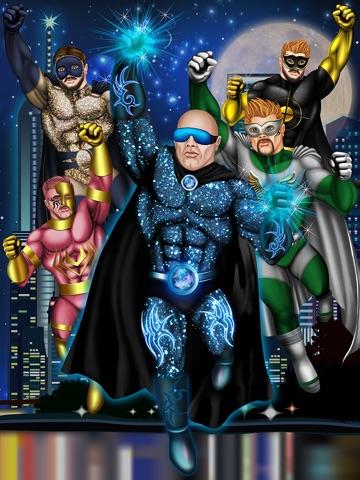 Create Your Own Superhero Maker – Super Hero Creator Games for US Man Free-ipad-0