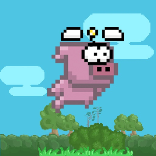 Acrobatic Pig - Swing Fly Training HD iOS App