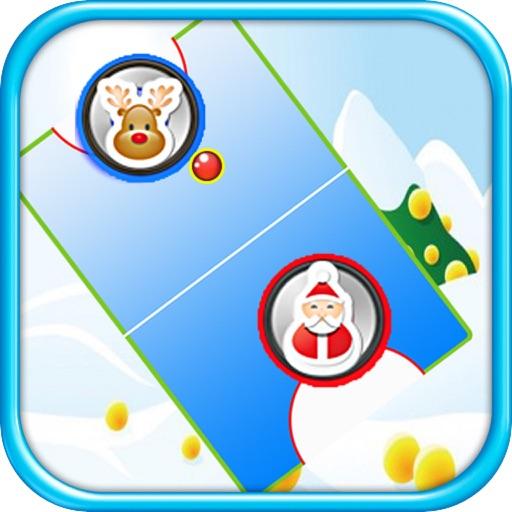 Santa Claus plays Glow Hockey - Best Air Games for Kids - FREE Christmas Version iOS App