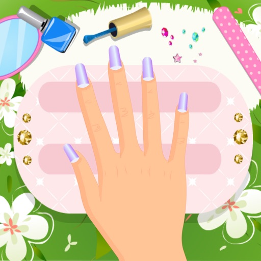 Beautiful Nails Salon - Girls Games iOS App
