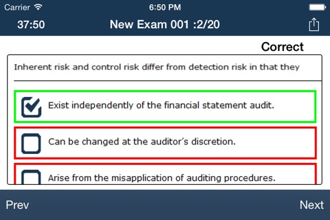 CPA Audit Exam Online Free screenshot 4