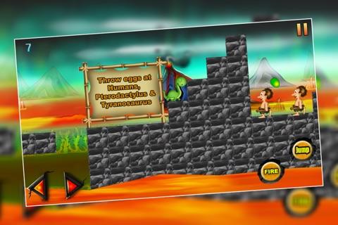 Dinosaur Island 3 : The Prehistoric Lava Mountain Adventure - Free screenshot 2