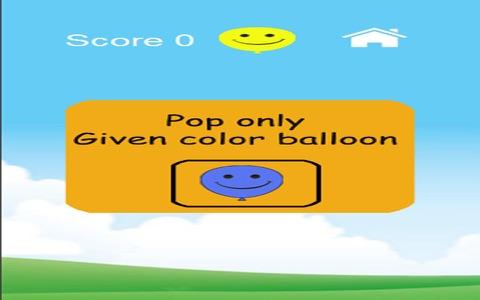 Balloon Popping Free screenshot 2