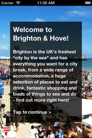Brighton Official Visitor City Guide screenshot 1