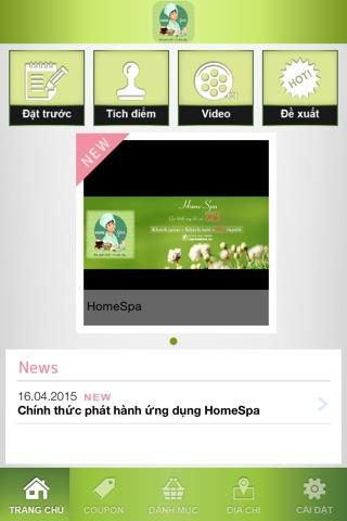 HomeSpa - Làm Đẹp screenshot 2