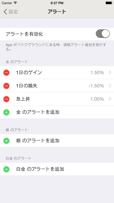 iGold screenshot1