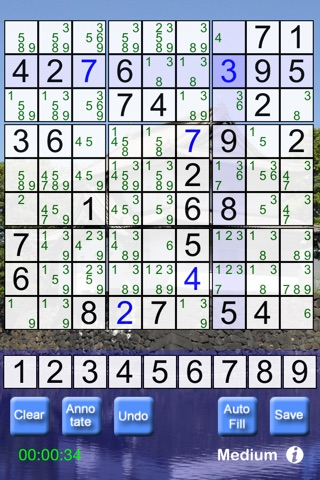 Game Pack Vol 1 - Sudoku, Wordfind & PictureFlip screenshot 3