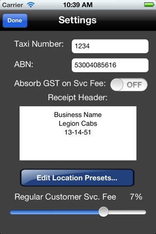 Taxi Cash Register screenshot 4