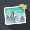 Rotate Video - Dobrar, virar e editor de rotação horizontal