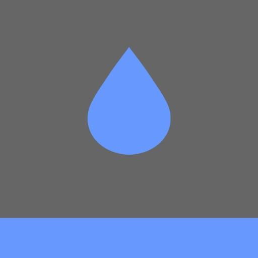 水滴火苗树木大石图片