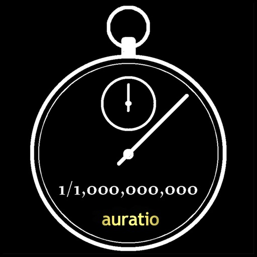 One billionth of a second stopwatch (With a game) iOS App