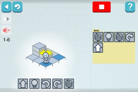 Lightbot : Programming Puzzles screenshot 1