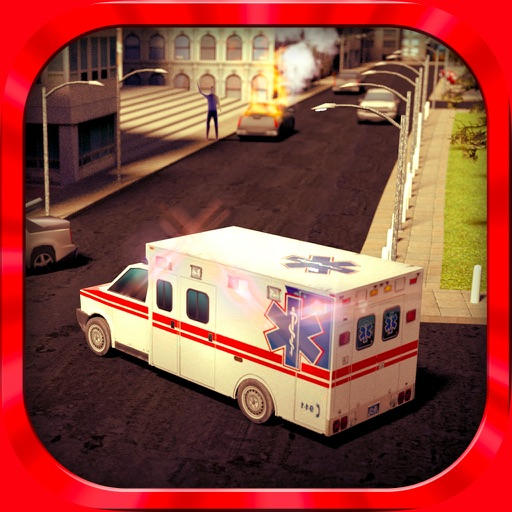 救急車のシミュレーター2015 PRO