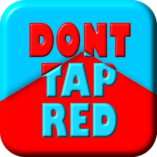 Don't Tap Red! iOS App