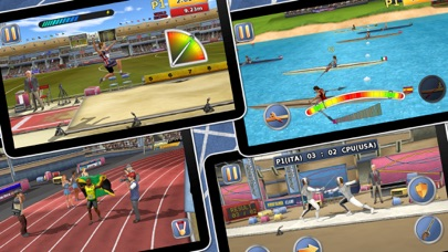 Screenshots of Athletics 2: Summer Sports - Free for iPhone