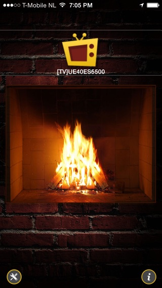 Samsung TV Fireplace on the App Store