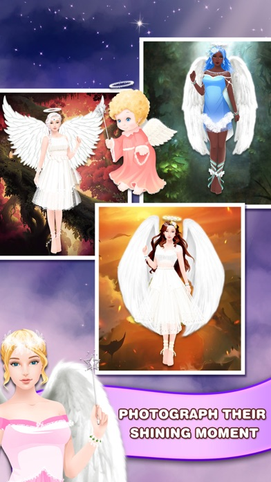 Angel Girl Dress Up