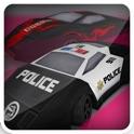 3D City Police Car Drift Race-r - Speed Crash Mania Game icon