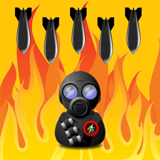 Make Bomb Rain iOS App