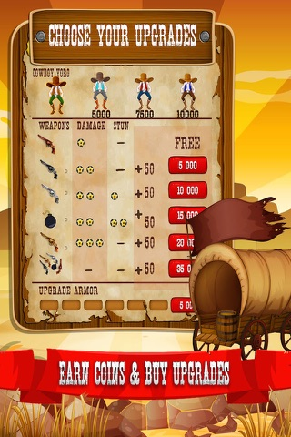 Cowboy Quickdraw - Wild West Shootout! screenshot 3