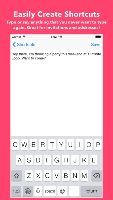 Shortcuts Keyboard Screenshots
