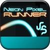 Spy Neon Pixel Run 3D