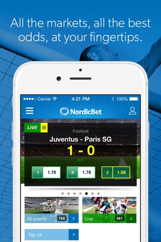 NordicBet Sportsbook & Casino screenshot 4