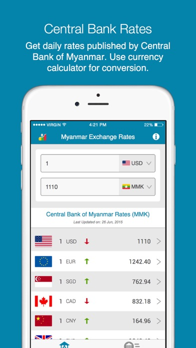 Myanmar Exchange Rates-0