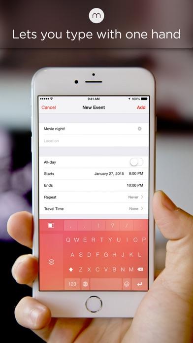 Minuum - The Little Keyboard for Big Fingers Screenshot