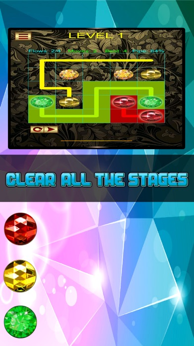 Jewel Connect: Match the Pipe Lines Pro screenshot two