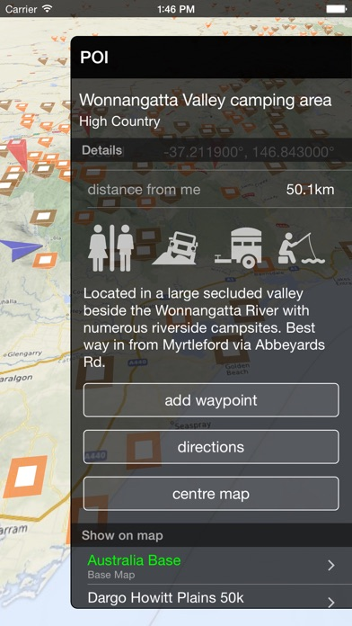 VMS Map Explorer   4WD 3D Topo Offline Navigation screenshot three