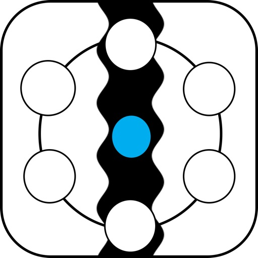 Circle Avoider - New and addictive action line game iOS App
